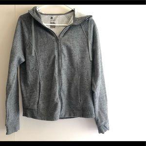 All in motion Hoodie Jacket Coat Top Zip Up M EUC